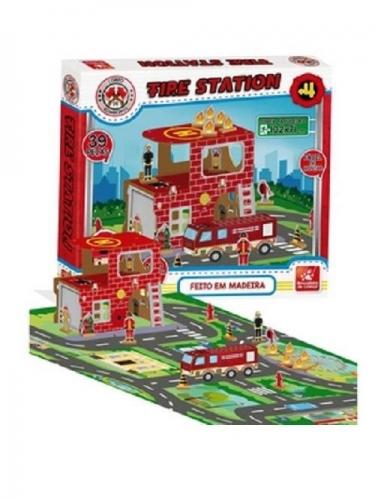 FIRE STATION 39 PEÇAS