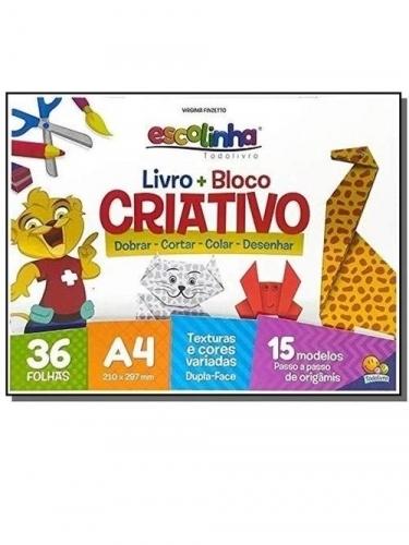 LIVRO + BLOCO CRIATIVO