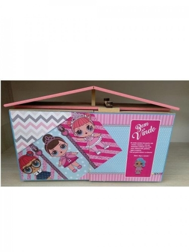 MALETA CASINHA DOLL/PRINCESAS