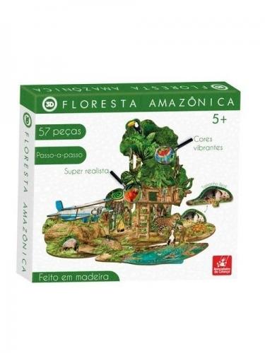 QUEBRA CABEÇA 3D FLORESTA AMAZÔNICA