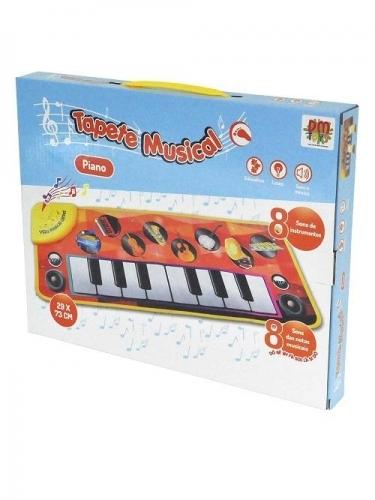 TAPETE MUSICAL TECLADO AZUL